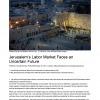 Jerusalem's Labor Market Faces an Uncertain Future